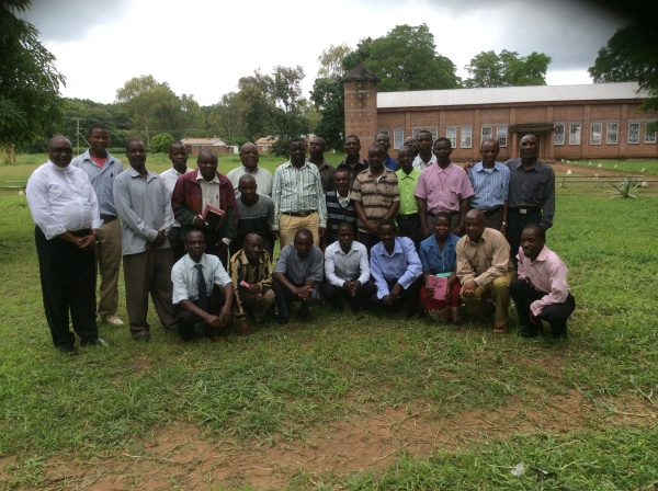 Group photo from St. Anne\'s training - Malawi
