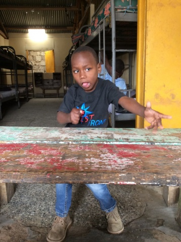 Robert, an orphaned child - Kenya