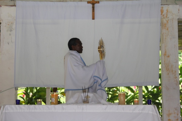 Benediction with the Missionaries of the Poor