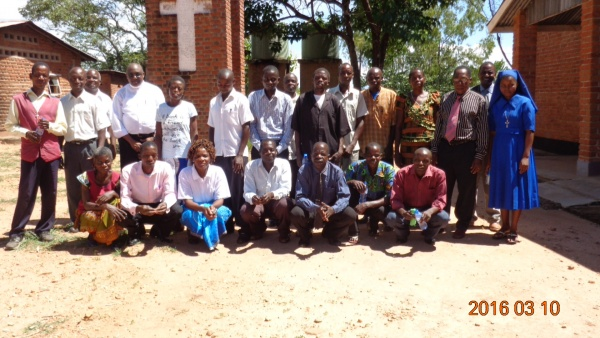 Group Photo from St. Steven\'s training - Malawi