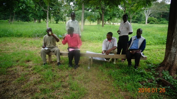 Small group discussions at St. Anne\'s - Malawi