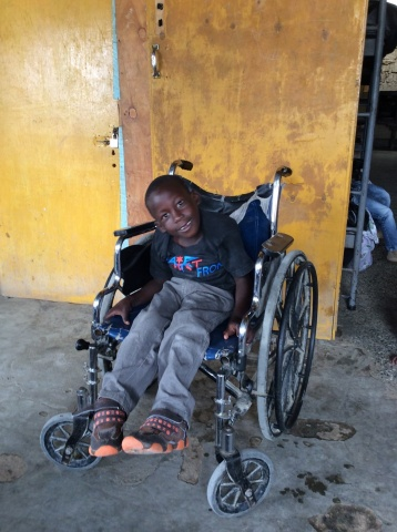 Shandruck, an orphaned child - Kenya