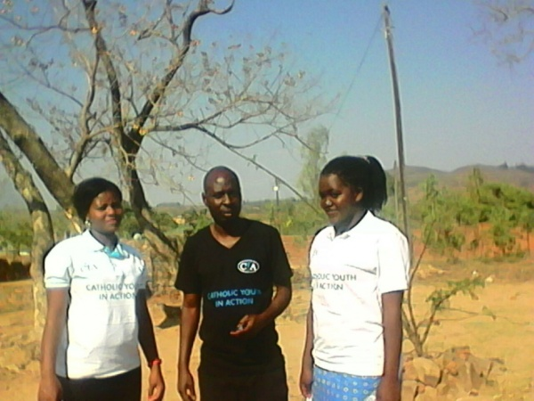 Young people partaking in training - Malawi