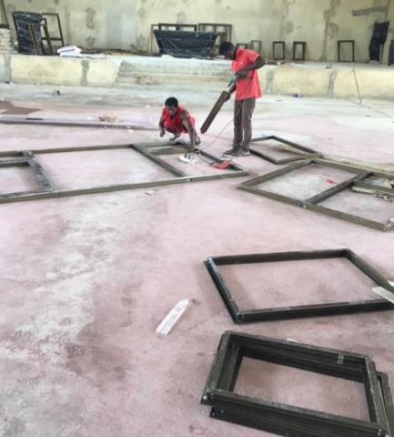 Window installation - March 2018
