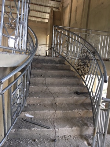 Ghana - new railings installed, February 2018