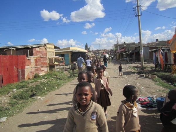 Good Shepherd Academy students - Kenya