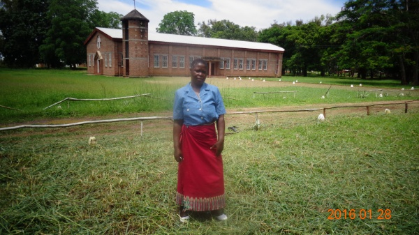 Maria Kamanga, participant at St. Anne\'s training - Malawi