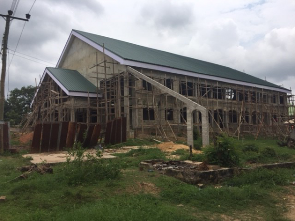 Ghana - new roof and ceiling, August 2017
