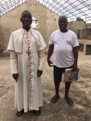 Ghana - Bishop Joseph Visits, August 2017
