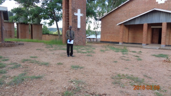 Jimmy Mwakafwila, participant at St. Steven\'s training - Malawi