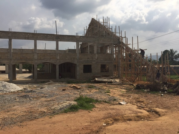 Ghana - construction update, March 2017