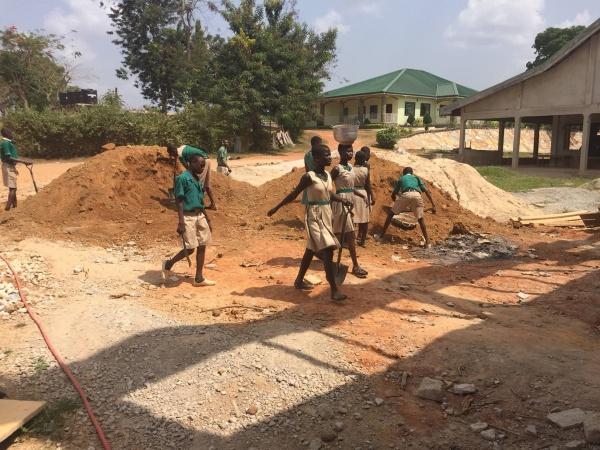 Ghana - construction update, January 2017