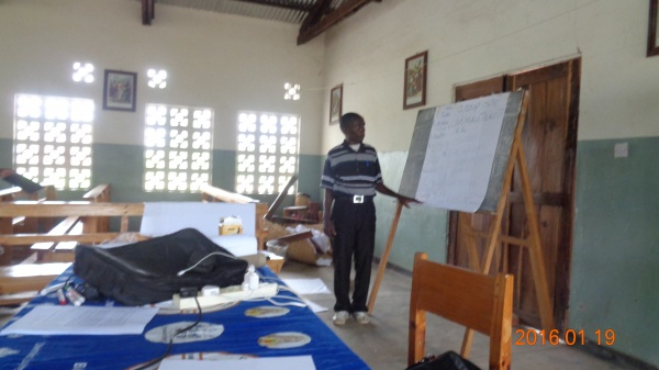 Training session at St. Joseph\'s - Malawi