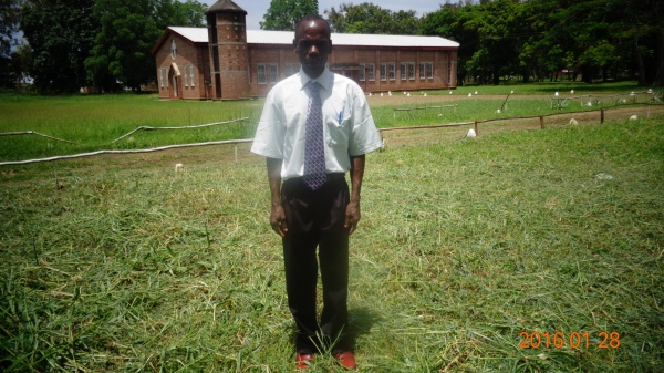 Moses Nyirenda, participant at St. Anne\'s training - Malawi
