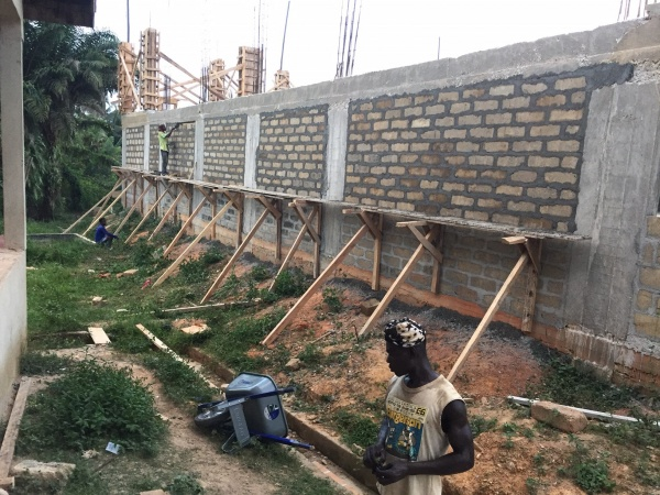 Ghana - construction update, January 2017