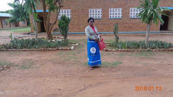 Judith Makondetsa, participant from St. Michael\'s training - Malawi