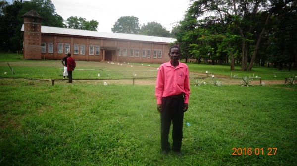 Patrick Wovwe, participant at St. Anne\'s training - Malawi