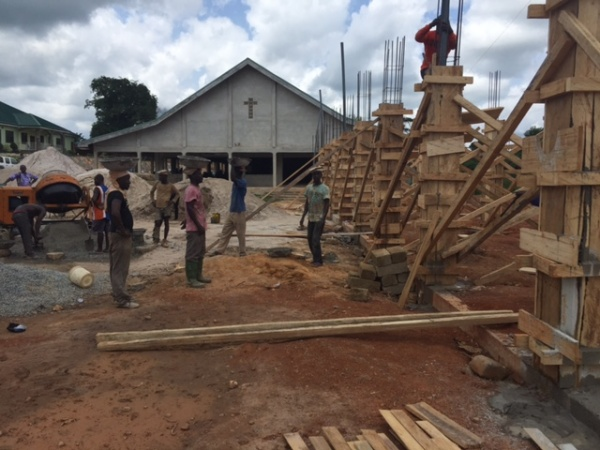 Ghana - construction begins! May 2016