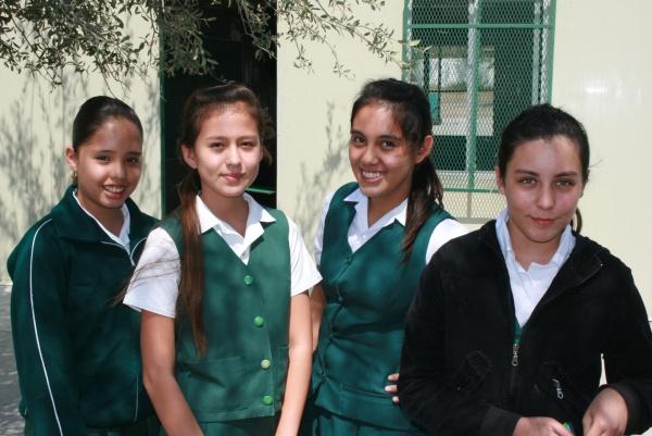 Students from Mano Amiga Santa Catarina