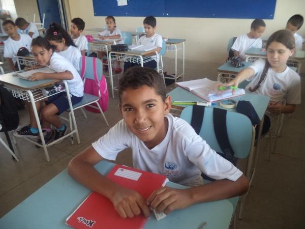 Mão Amiga student William - Brazil