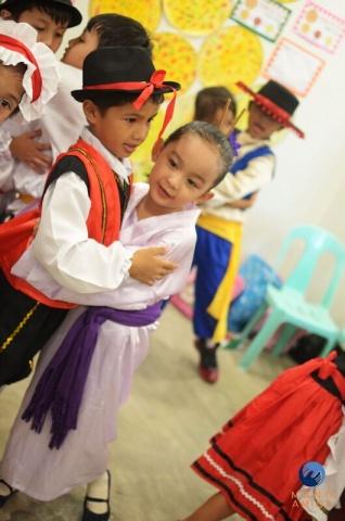 MA Philippines - Kindergarten dancers