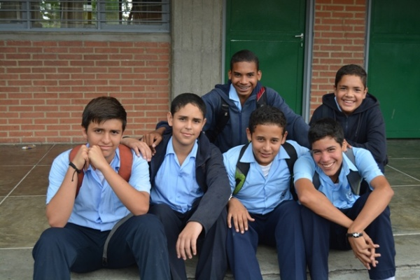 Students from Mano Amiga - Venezuela
