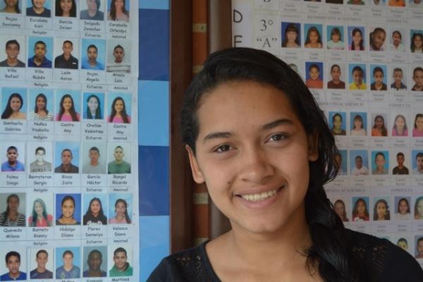 Jaiser, a Mano Amiga Mariches student - Venezuela