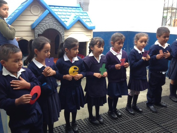 MA Guatemala - Kindergarten assembly