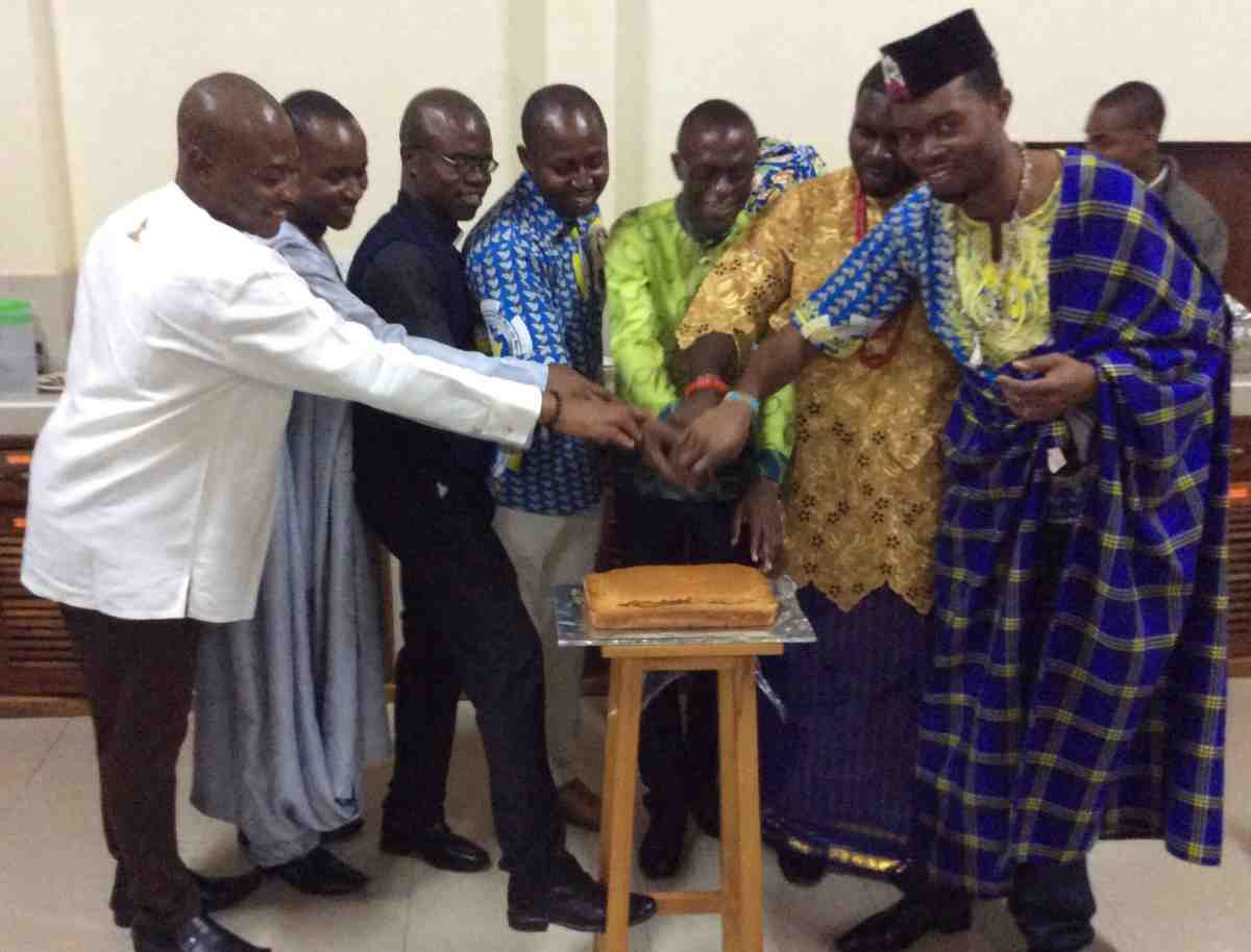 SMA seminarians come from five countries in Africa