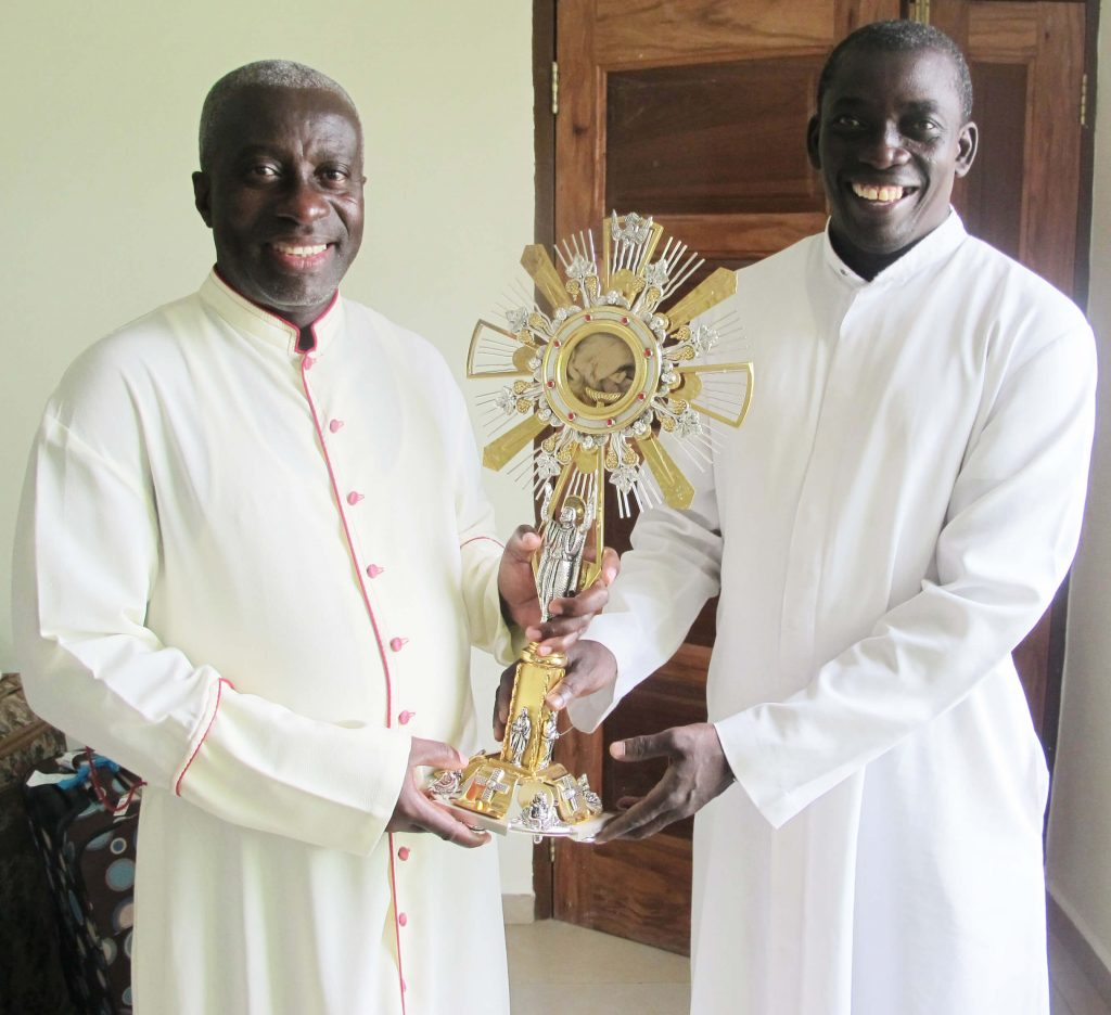 Msgr. Simon and Fr. Anthony
