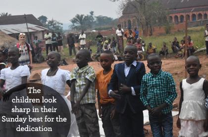 Children at Ndekesha Orphanage, DR Congo