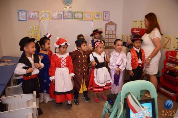 -Kindergarten Students for International Day