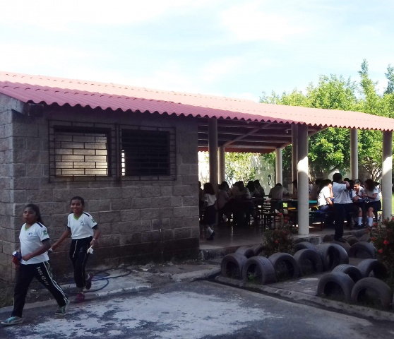 El Salvador - Dining Hall, after