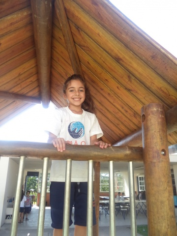 Mão Amiga student Kethlyn - Brazil