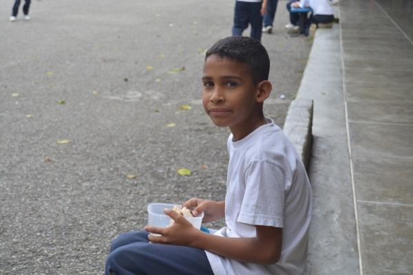 A Mano Amiga Mariches student - Venezuela