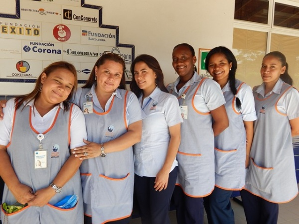 Mano Amiga Bello students - Colombia