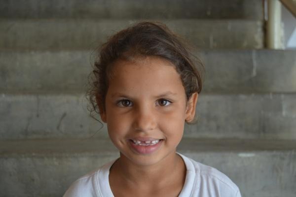 Barbara, a Mano Amiga Mariches student - Venezuela