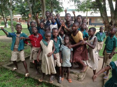 Children in Enchi, Ghana