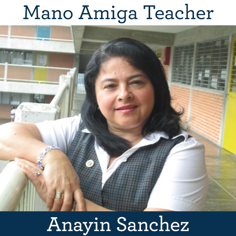 Mano Amiga Teacher Anayin Sanchez
