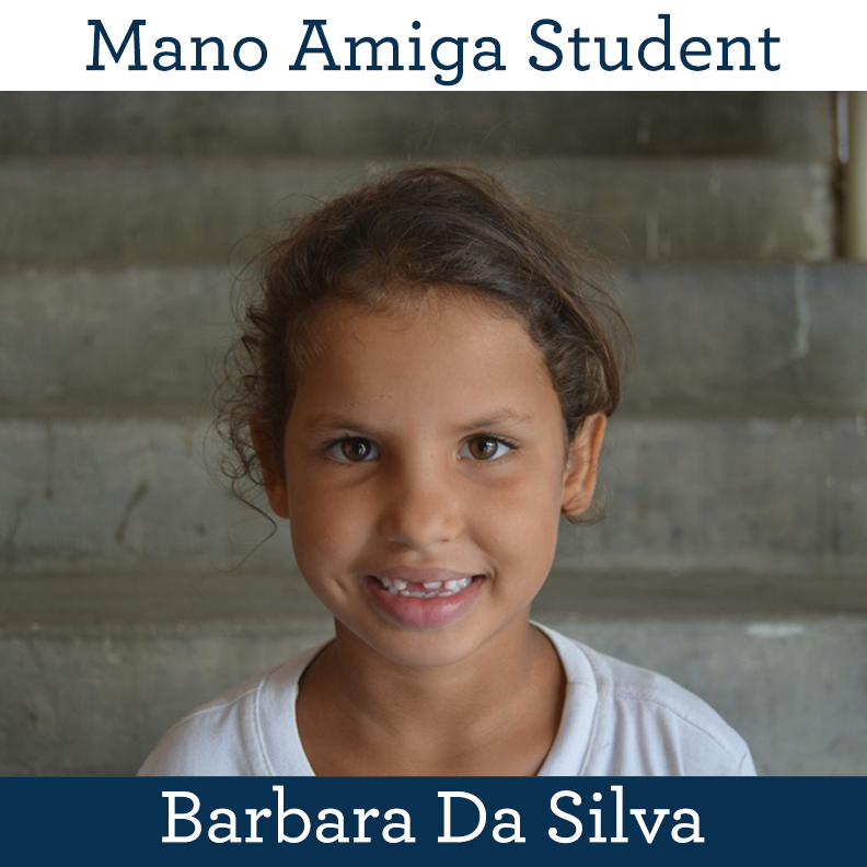 Mano Amiga Student Barbara Da Silva