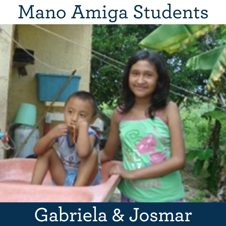 Mano Amiga Students Gabriela & Josmar