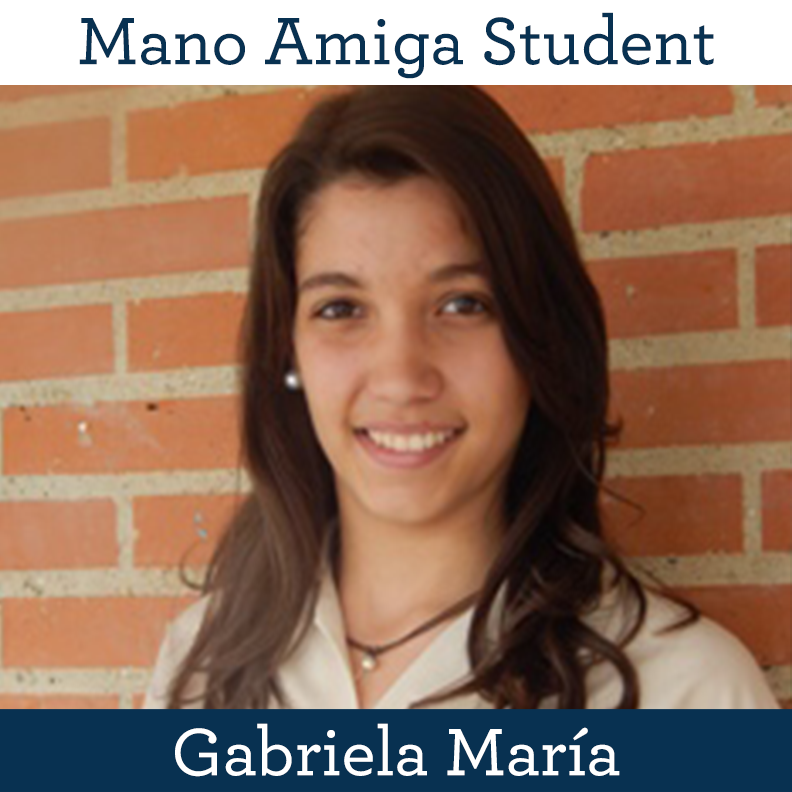 mano Amiga Student Gabriela María