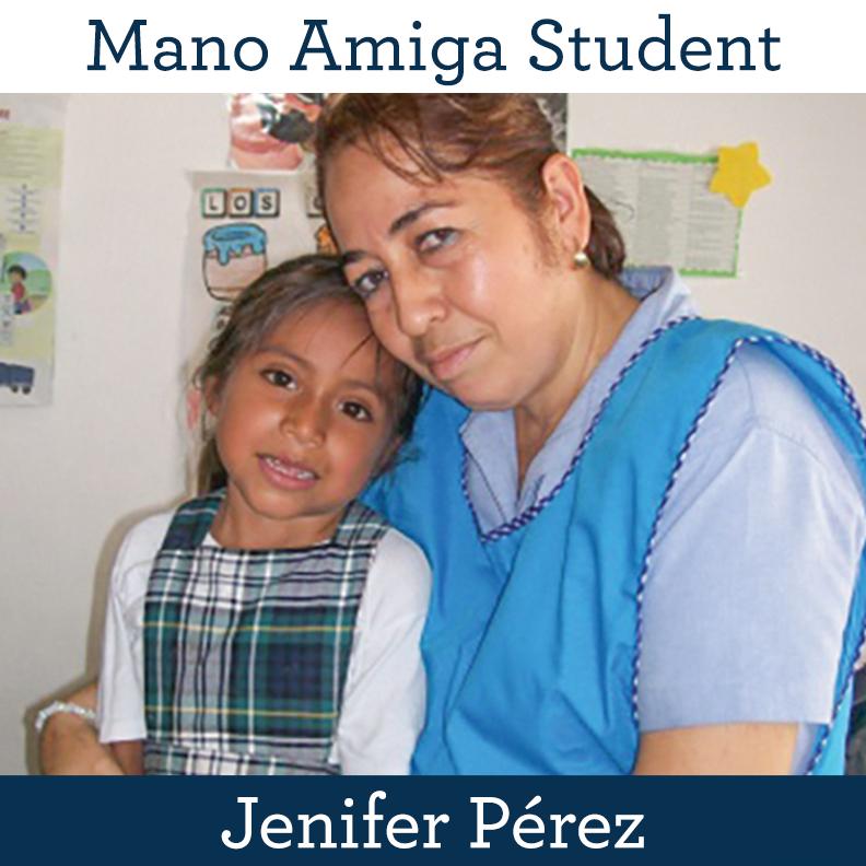Mano Amiga Student Jenifer Pérez
