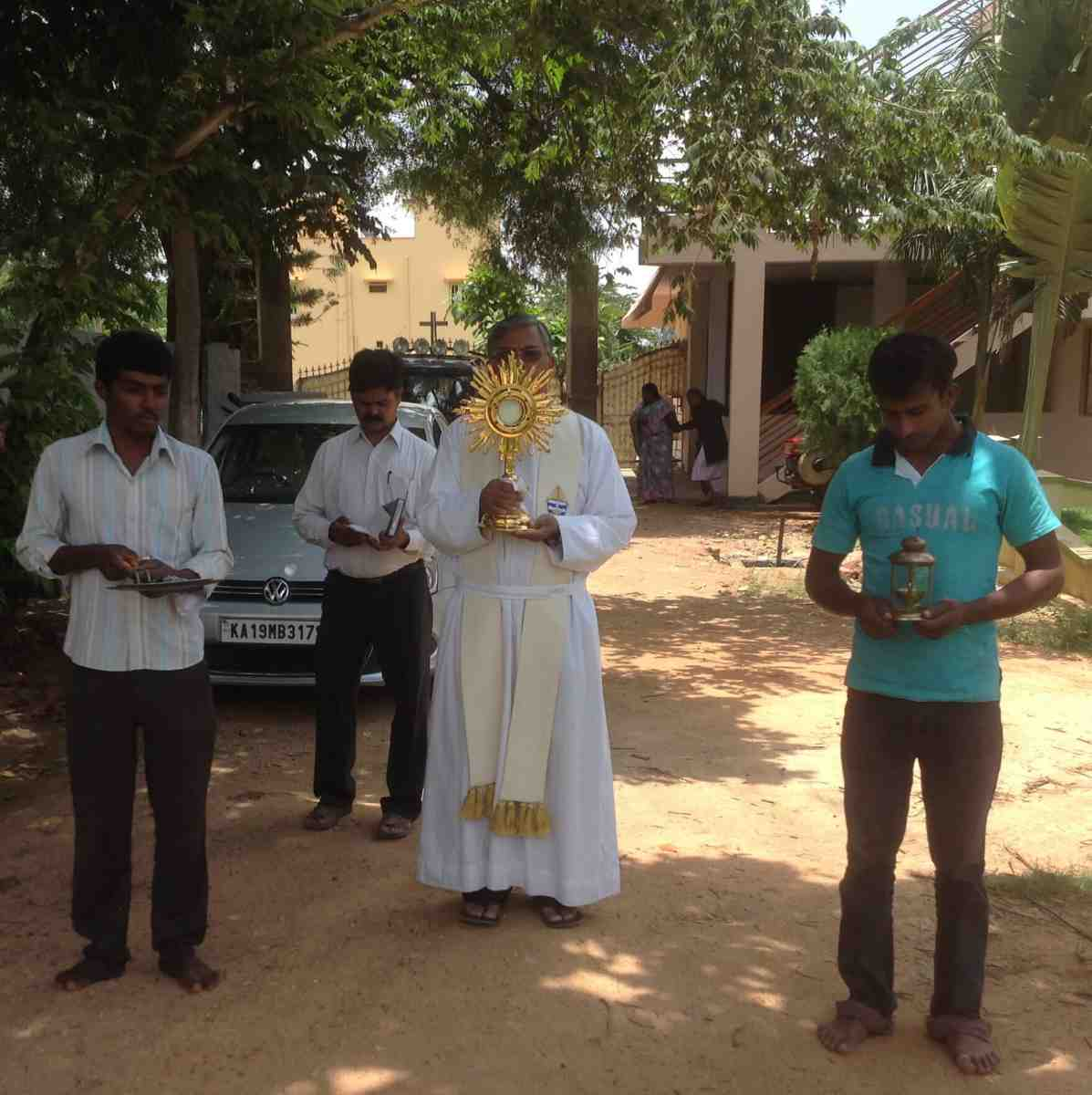 Little Way Messengers bring the sacraments to their surrounding community in a tangible way