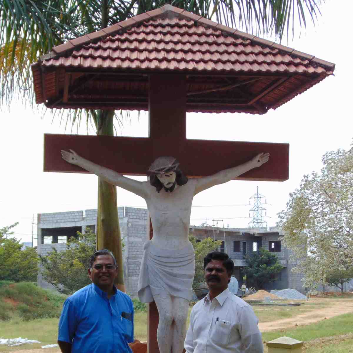 Little Way Messengers founder, Fr. Salvaraj, on his congregation\'s compound