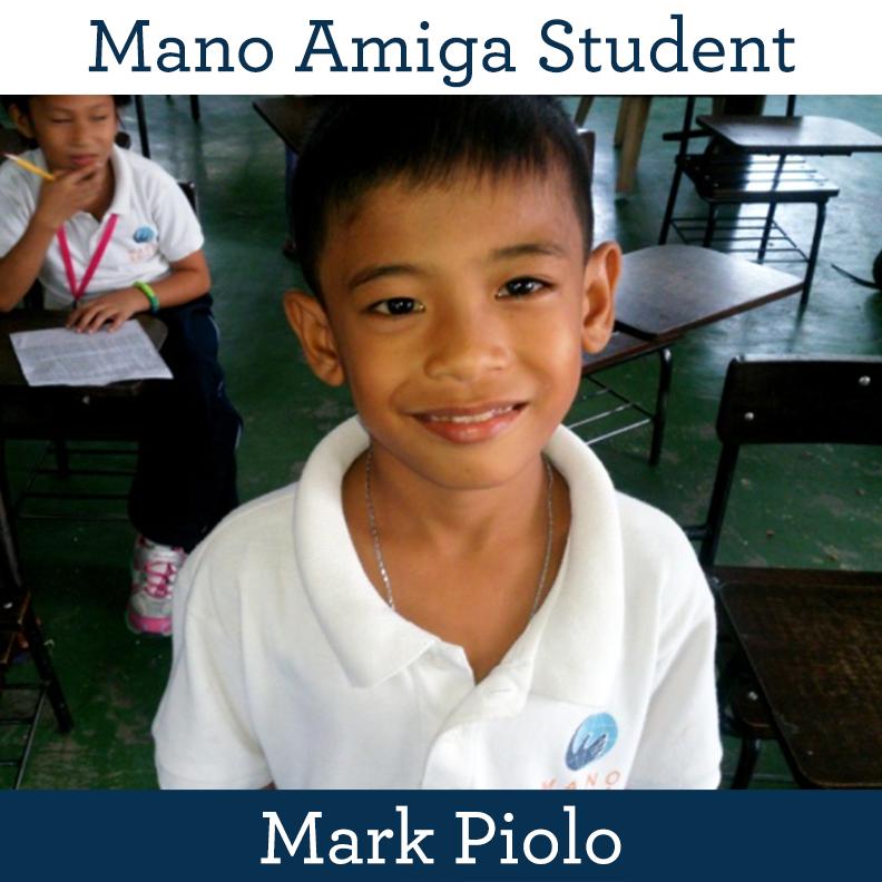 Mano Amiga Student Mark Piolo