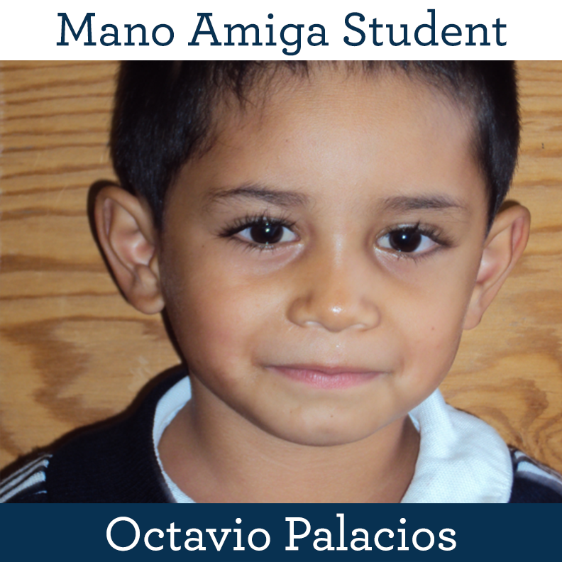 Mano Amiga Student Octavio Palacios