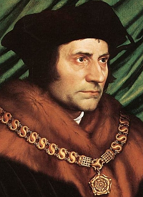 St. Thomas More, martyr, was strengthened and prepared for martyrdom by a strong devotion to adoration of the Blessed Sacrament