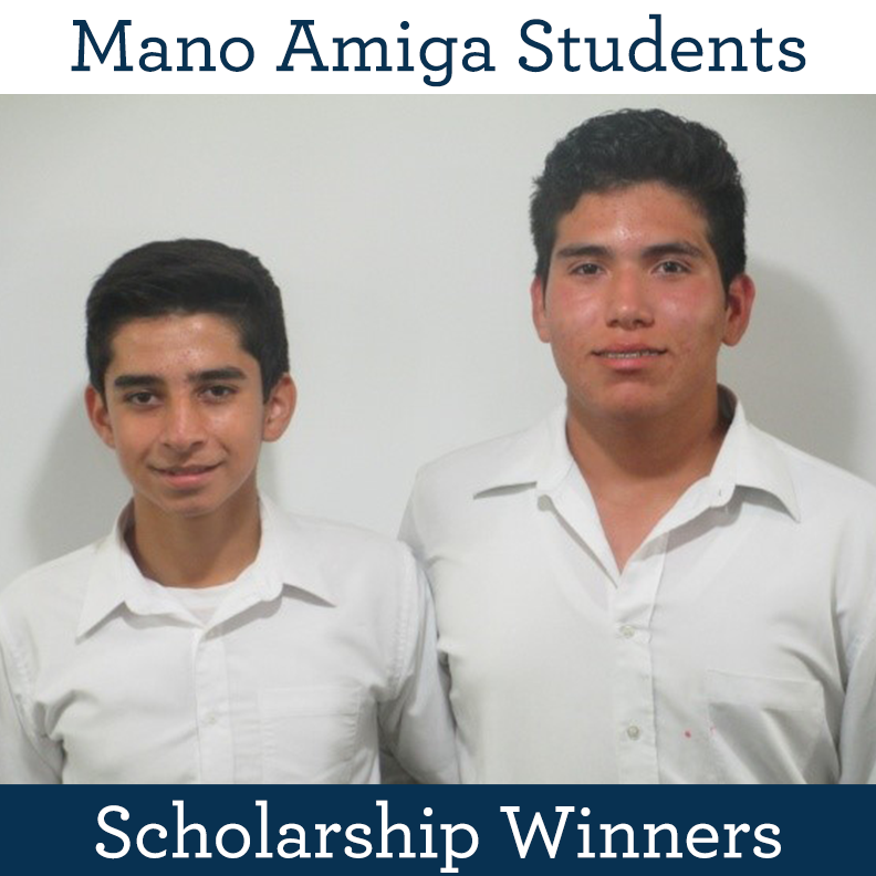 Mano Amiga Students Scholarship Winners