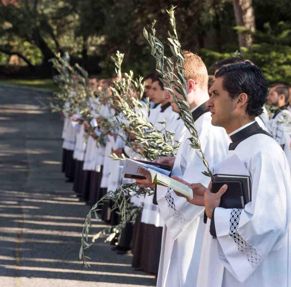 LC seminarians in Rome